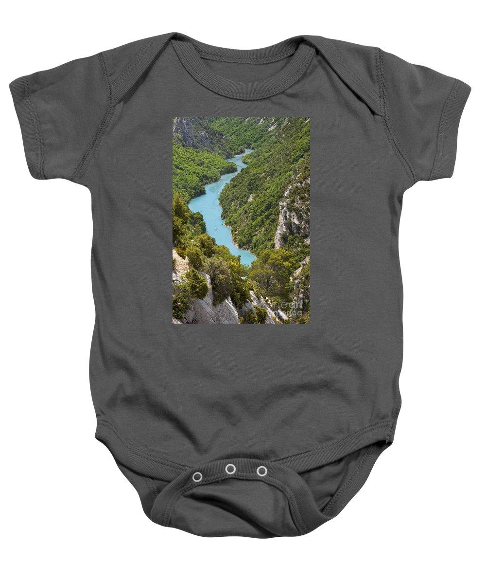 Alpes Baby Onesie featuring the photograph Gorges Du Verdon by Brian Jannsen