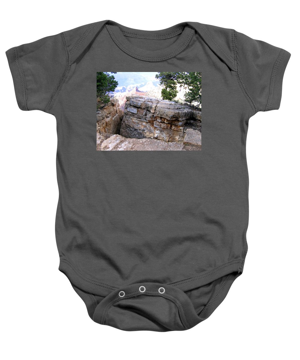 Grand Canyon Baby Onesie featuring the photograph Grand Canyon 57 by Will Borden