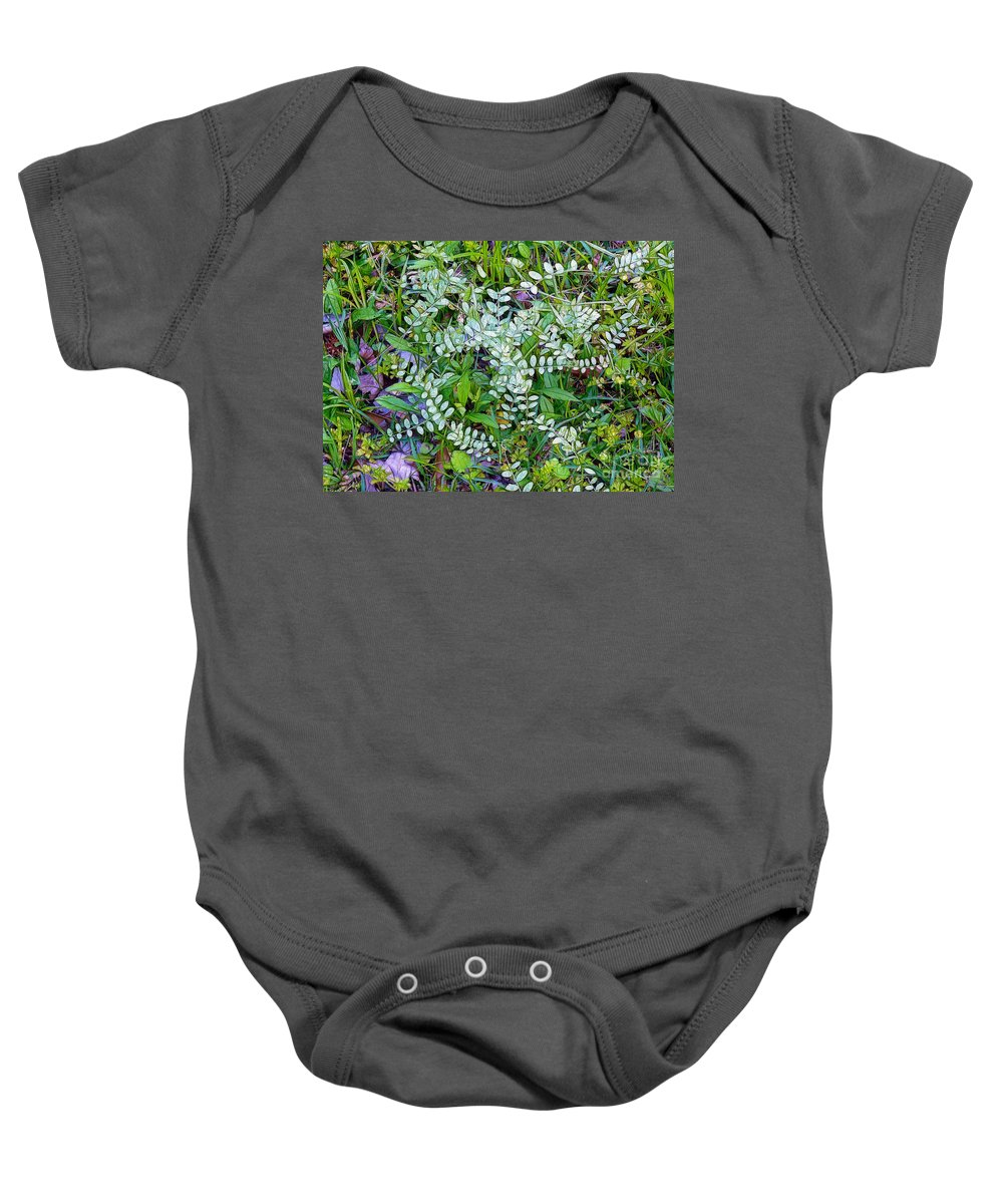 Ground Cover Baby Onesie featuring the photograph Ground Cover by Judi Bagwell