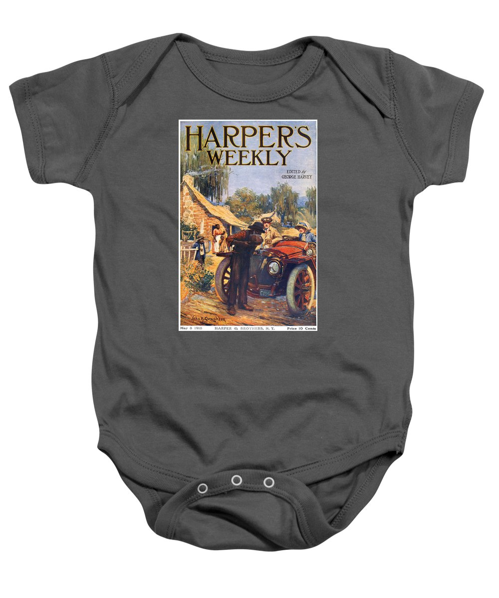 1913 Baby Onesie featuring the photograph Harpers Weekly, 1913 by Granger