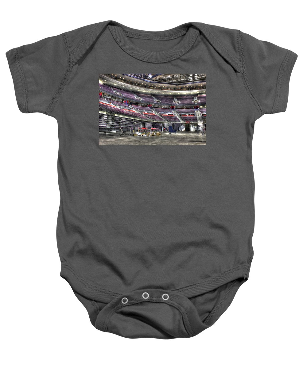 Baby Onesie featuring the photograph Inside The Palace Of Auburn Hills Mi by Nicholas Grunas