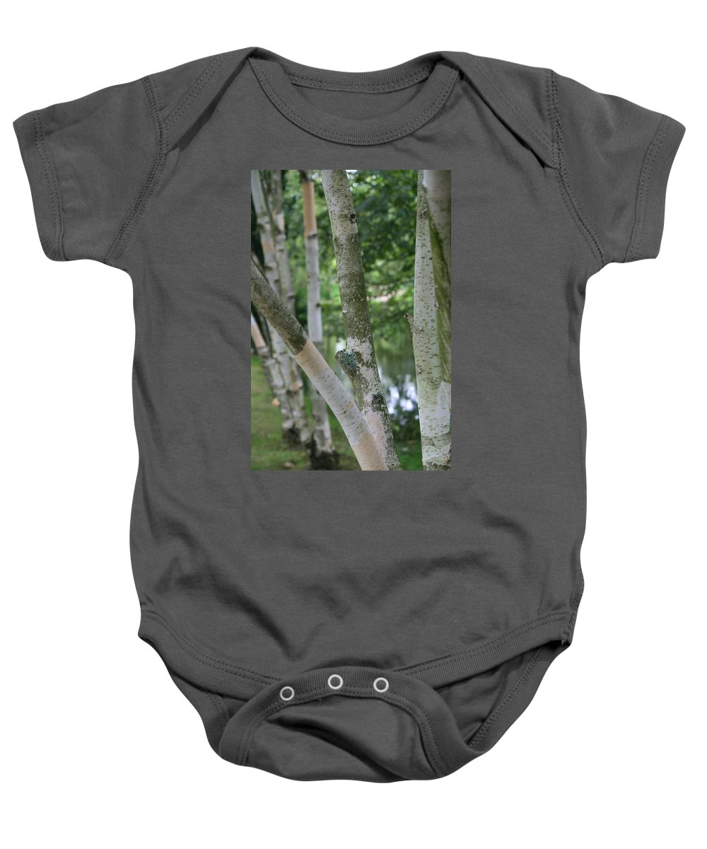 Trees Baby Onesie featuring the photograph Ireland 0018 by Carol Ann Thomas