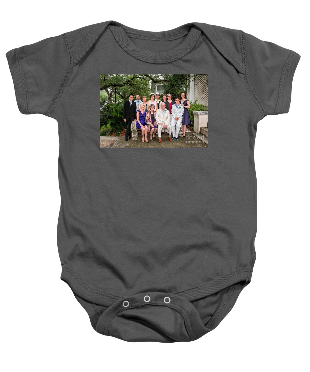Family Baby Onesie featuring the photograph Janniv040 by Kathleen K Parker
