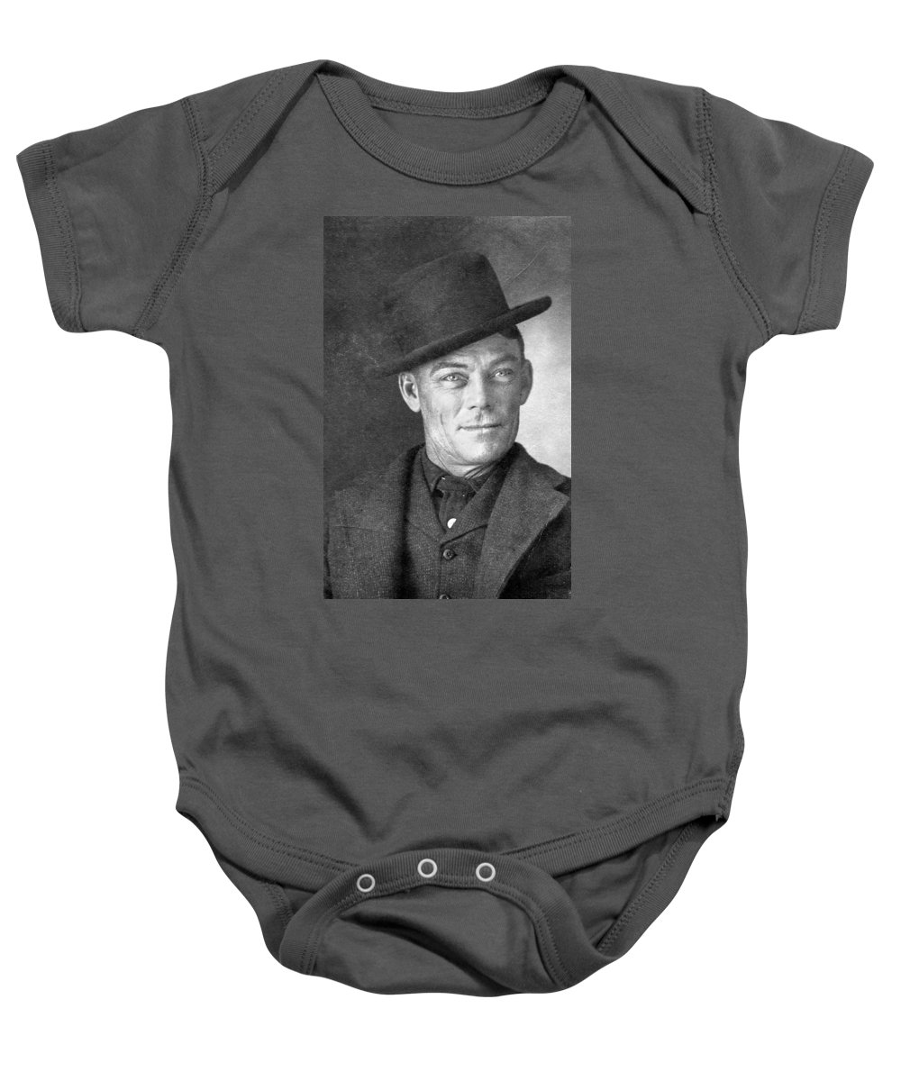 1902 Baby Onesie featuring the photograph Jesse Linsley (b.1868) by Granger