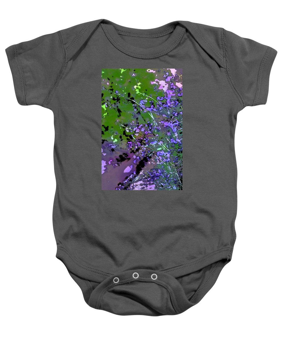 Floral Baby Onesie featuring the photograph Lavender 2 by Pamela Cooper