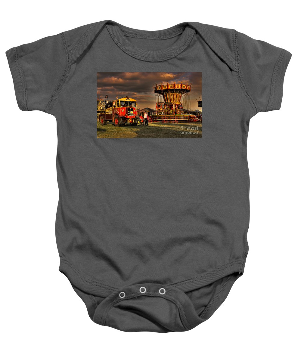 Aec Baby Onesie featuring the photograph Matador And The Wave Swingers by Rob Hawkins