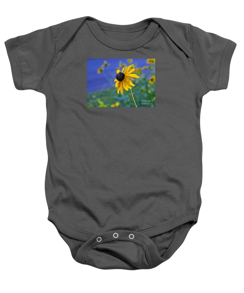 Nature Baby Onesie featuring the photograph Morning Light by Nava Thompson