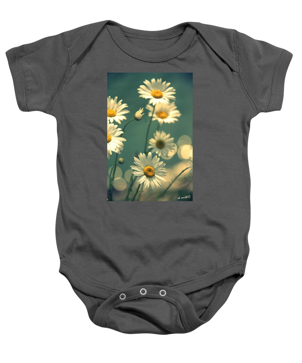 Mothers Garden Baby Onesie featuring the photograph Mothers Garden by Ed Smith