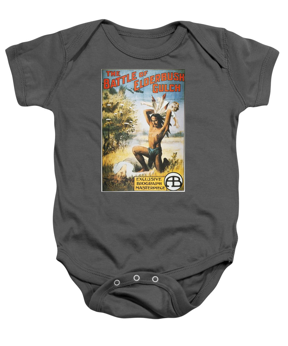 1913 Baby Onesie featuring the photograph Movie Poster, 1913 by Granger