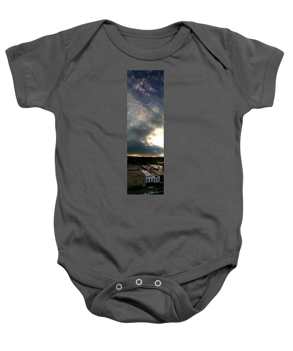 Olean Baby Onesie featuring the photograph Olean Ny by Valerie Nolan