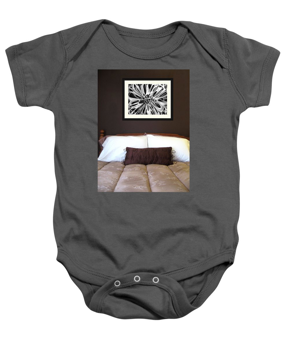 Baby Onesie featuring the photograph On Display 02 by Peter Piatt