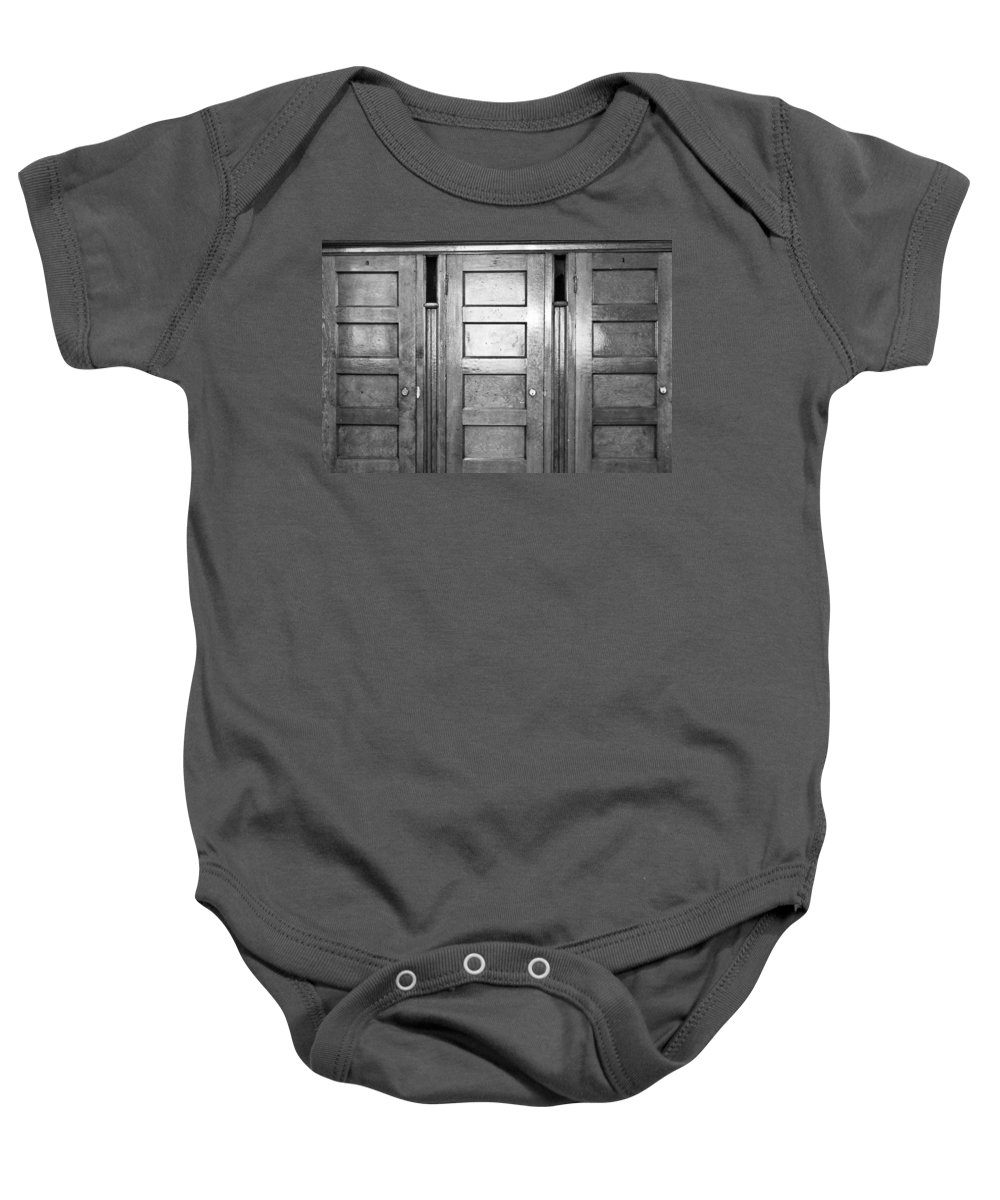 Denver Baby Onesie featuring the photograph One Two Three by Colleen Coccia