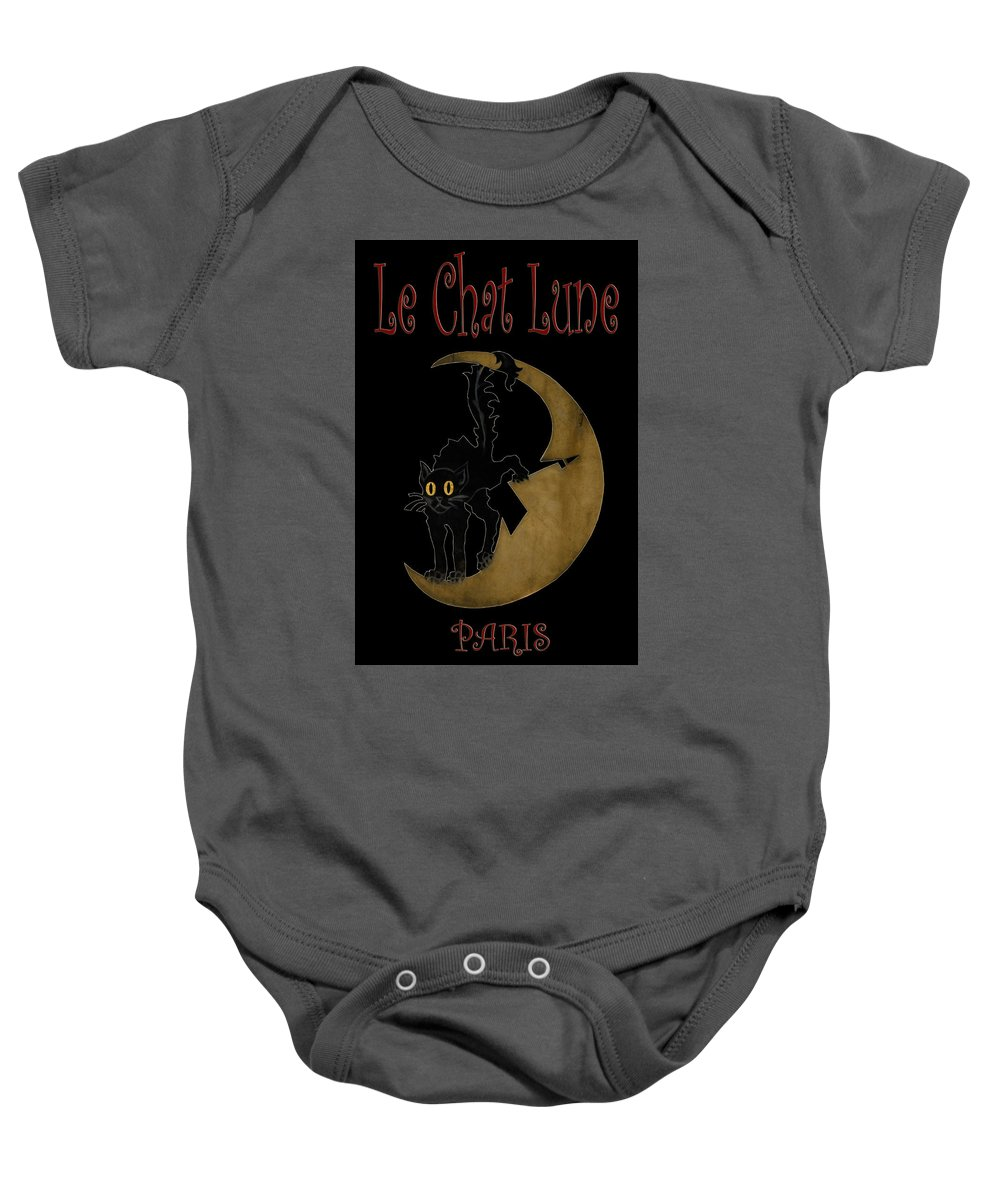 Paris Baby Onesie featuring the photograph Paris Cafe Poster by Andrew Fare