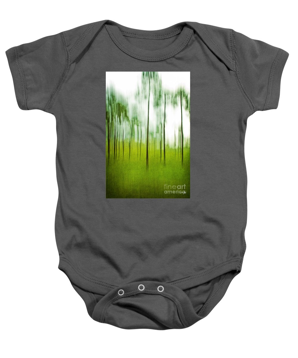 Trees Baby Onesie featuring the photograph Pines by Scott Pellegrin