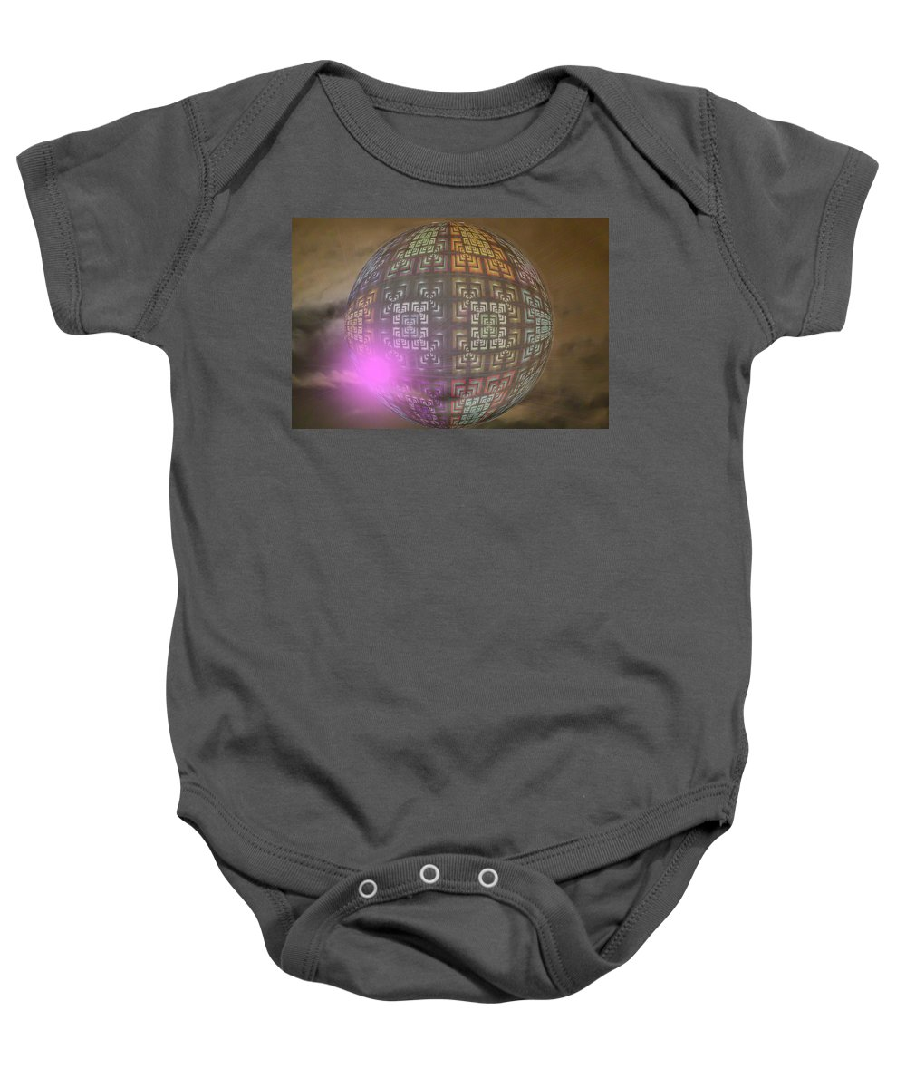 Baby Onesie featuring the photograph Planet X321z4 by Theodore Jones