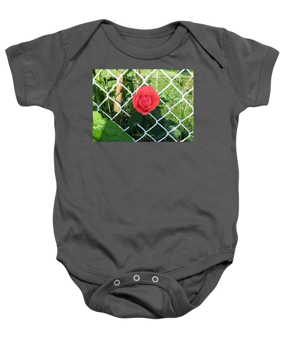Adorable Beauty Baby Onesie featuring the photograph Princesse Rose by Sonali Gangane