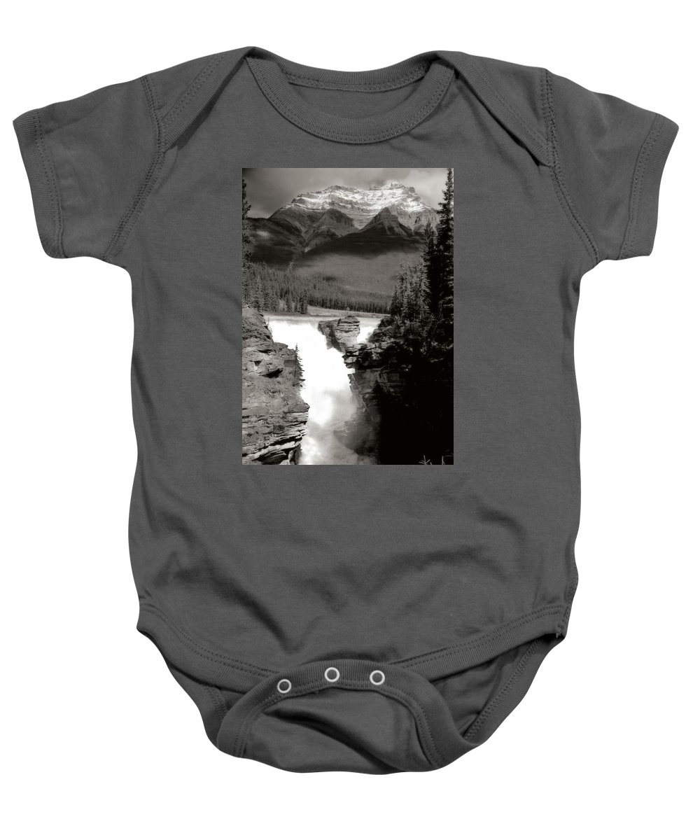 Landscape Baby Onesie featuring the photograph River Fall Part 1 by Marcin and Dawid Witukiewicz