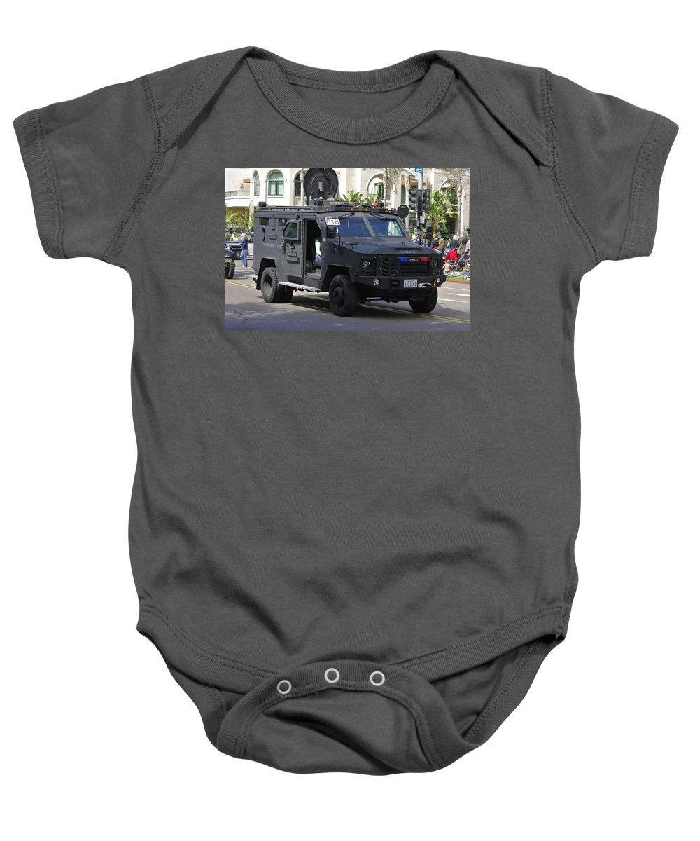 Baby Onesie featuring the photograph San Diego Swat by John Greaves