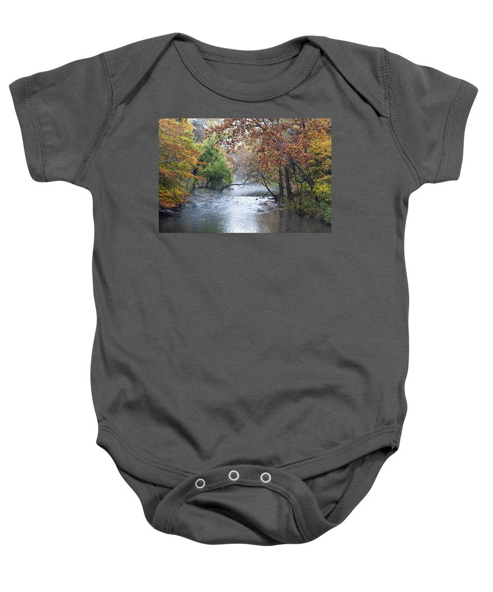 Seasons Change Baby Onesie featuring the photograph Seasons Change by Bill Cannon