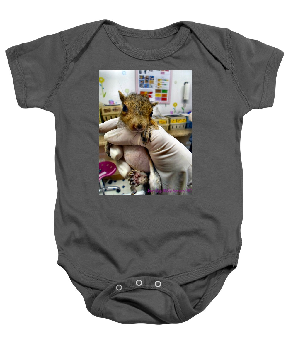 Rehab Baby Onesie featuring the photograph Silent Night by Art Dingo