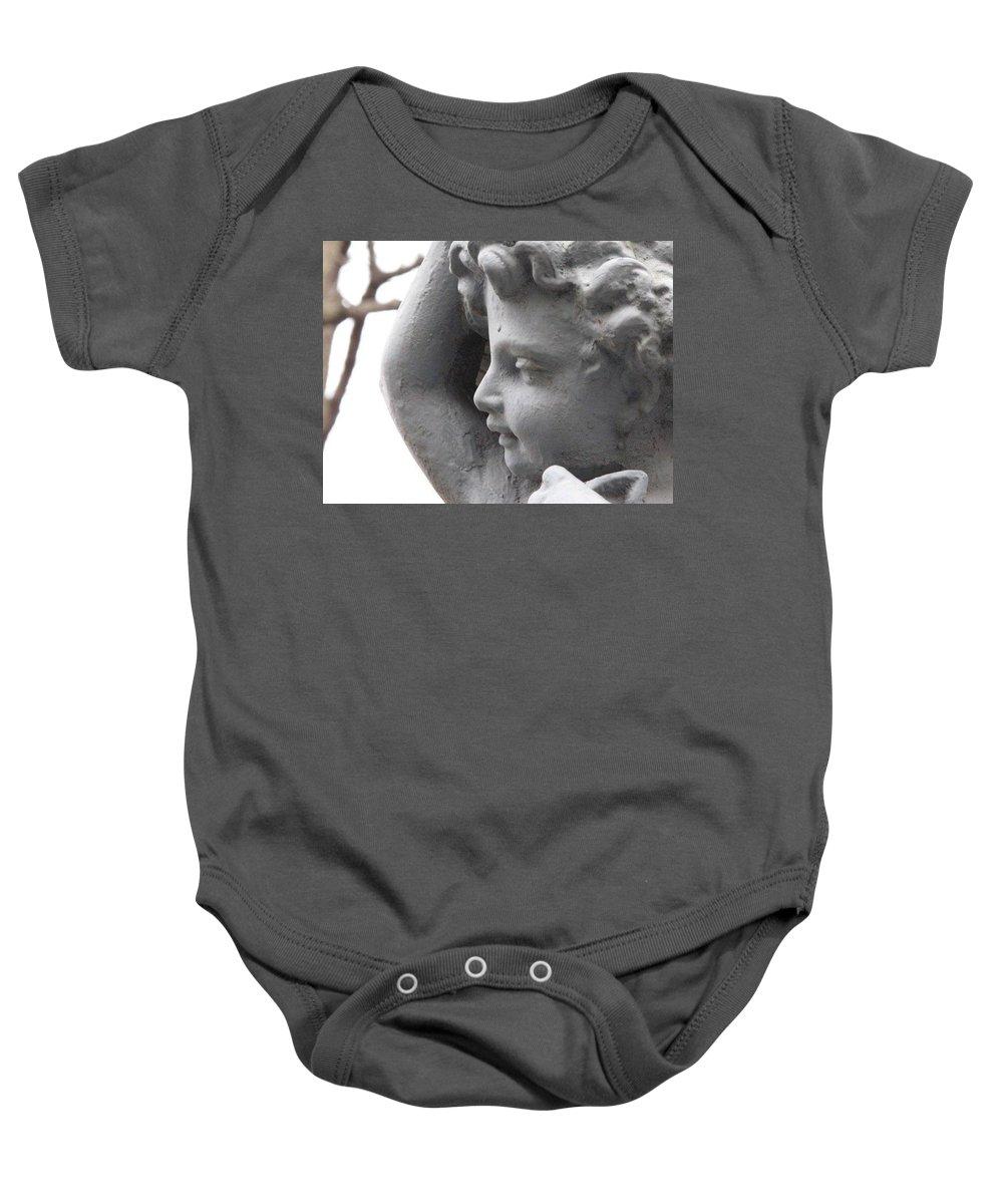 Cherub Baby Onesie featuring the photograph Silent Watcher by Michele Nelson
