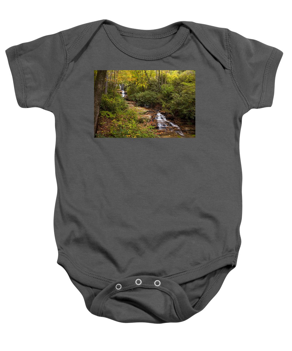 Stream Baby Onesie featuring the photograph Small Stream by Amy Jackson