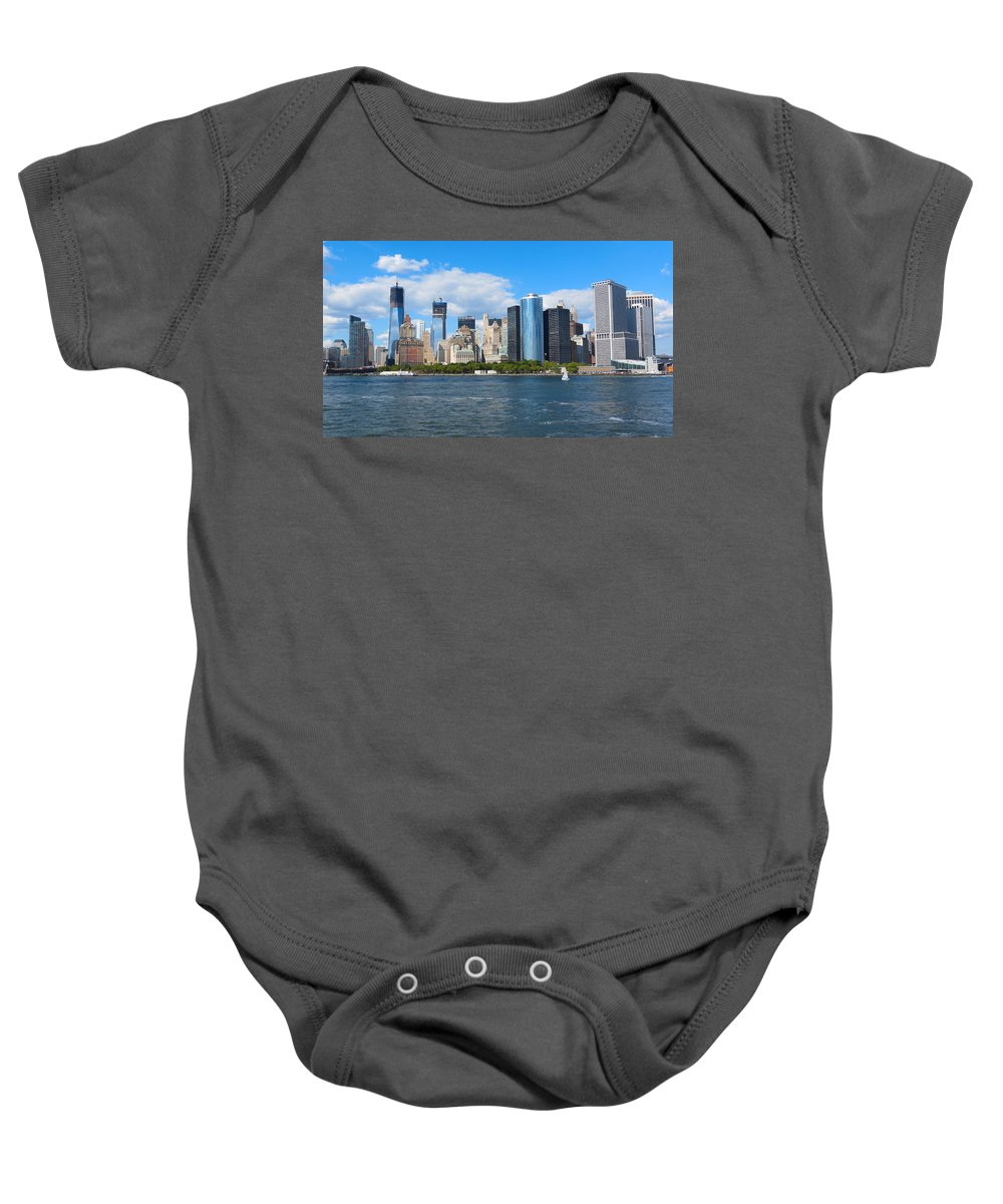 South Ferry Baby Onesie featuring the photograph South Ferry Water Ride5 by Terry Wallace