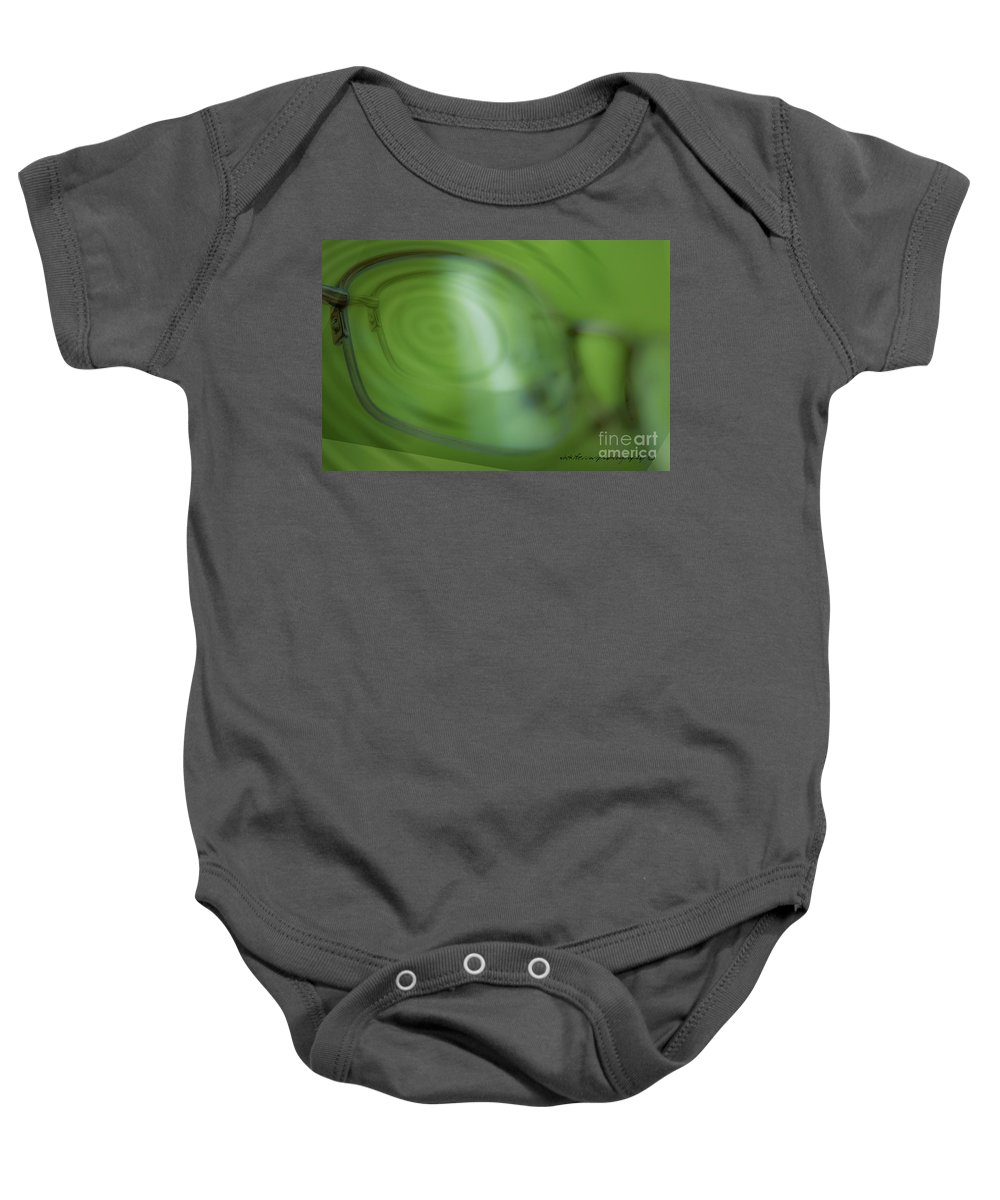 Vicki Ferrari Photography Baby Onesie featuring the photograph Spinner Vision by Vicki Ferrari Photography