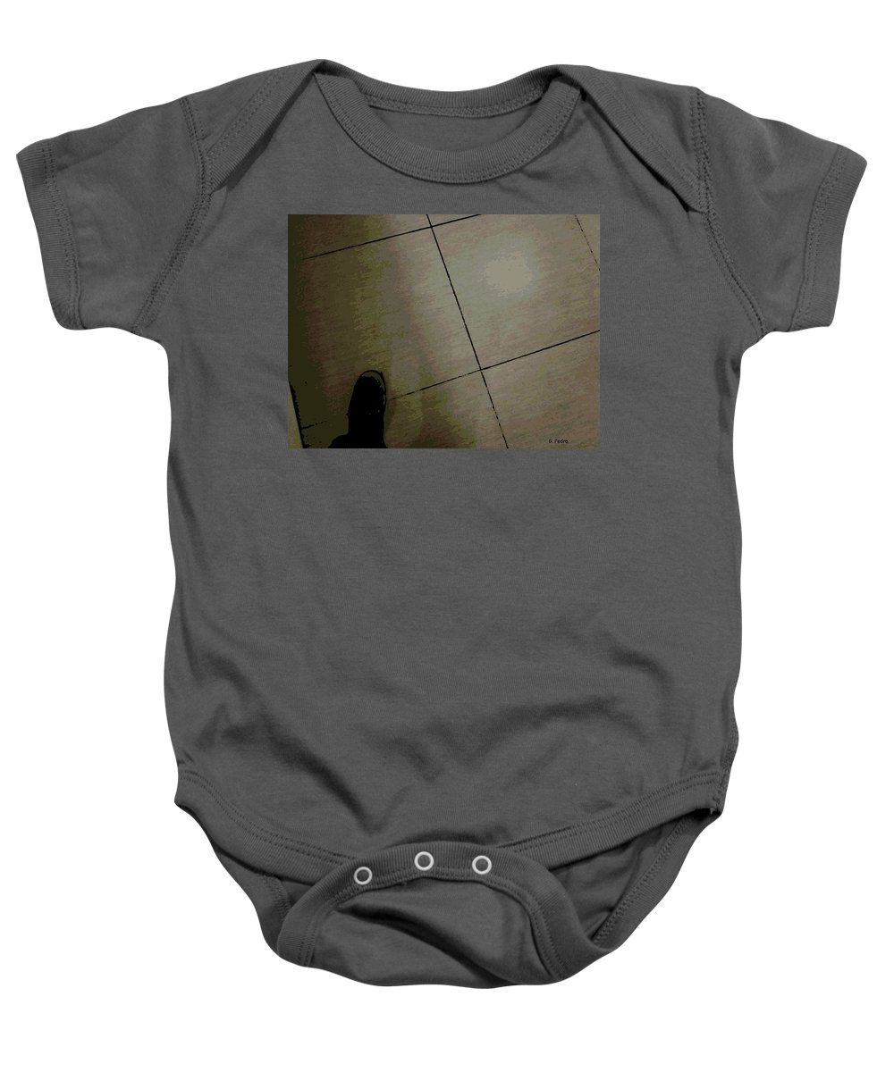 Step Baby Onesie featuring the photograph Step One by George Pedro