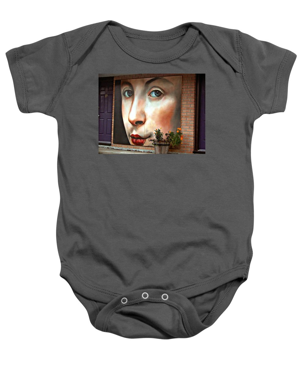 Woman Baby Onesie featuring the photograph Such Eyes... by Steve Harrington