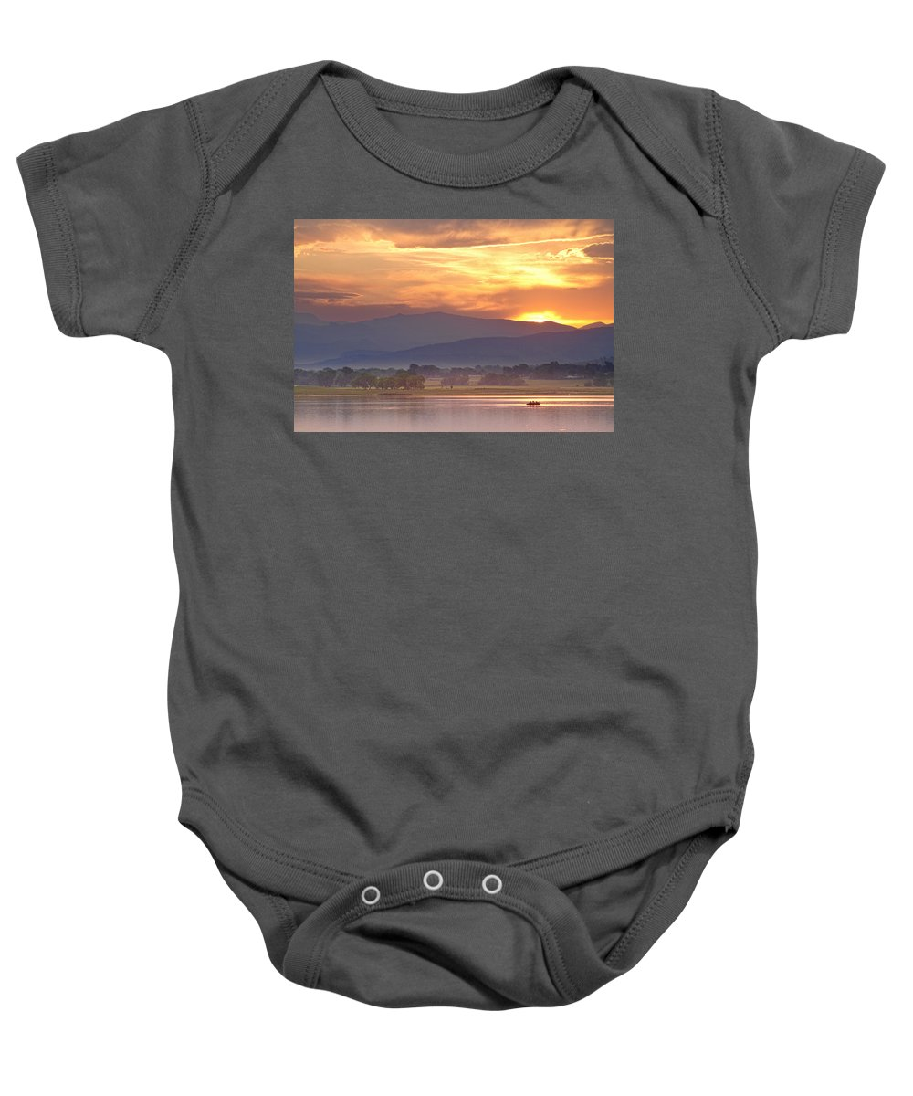 Colorado Baby Onesie featuring the photograph Taking In The View by James BO Insogna