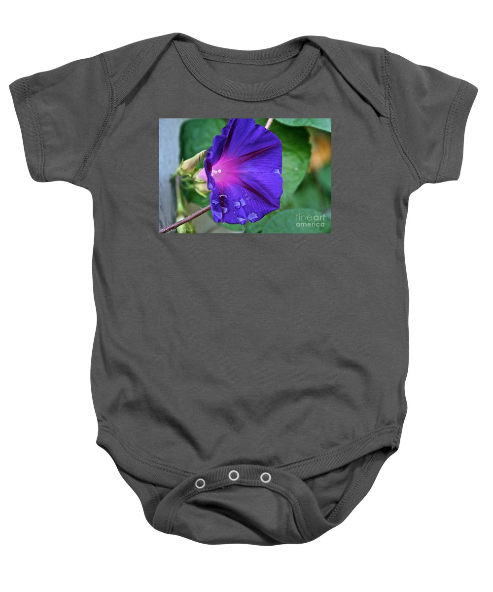 Outdoors Baby Onesie featuring the photograph Tearful by Susan Herber