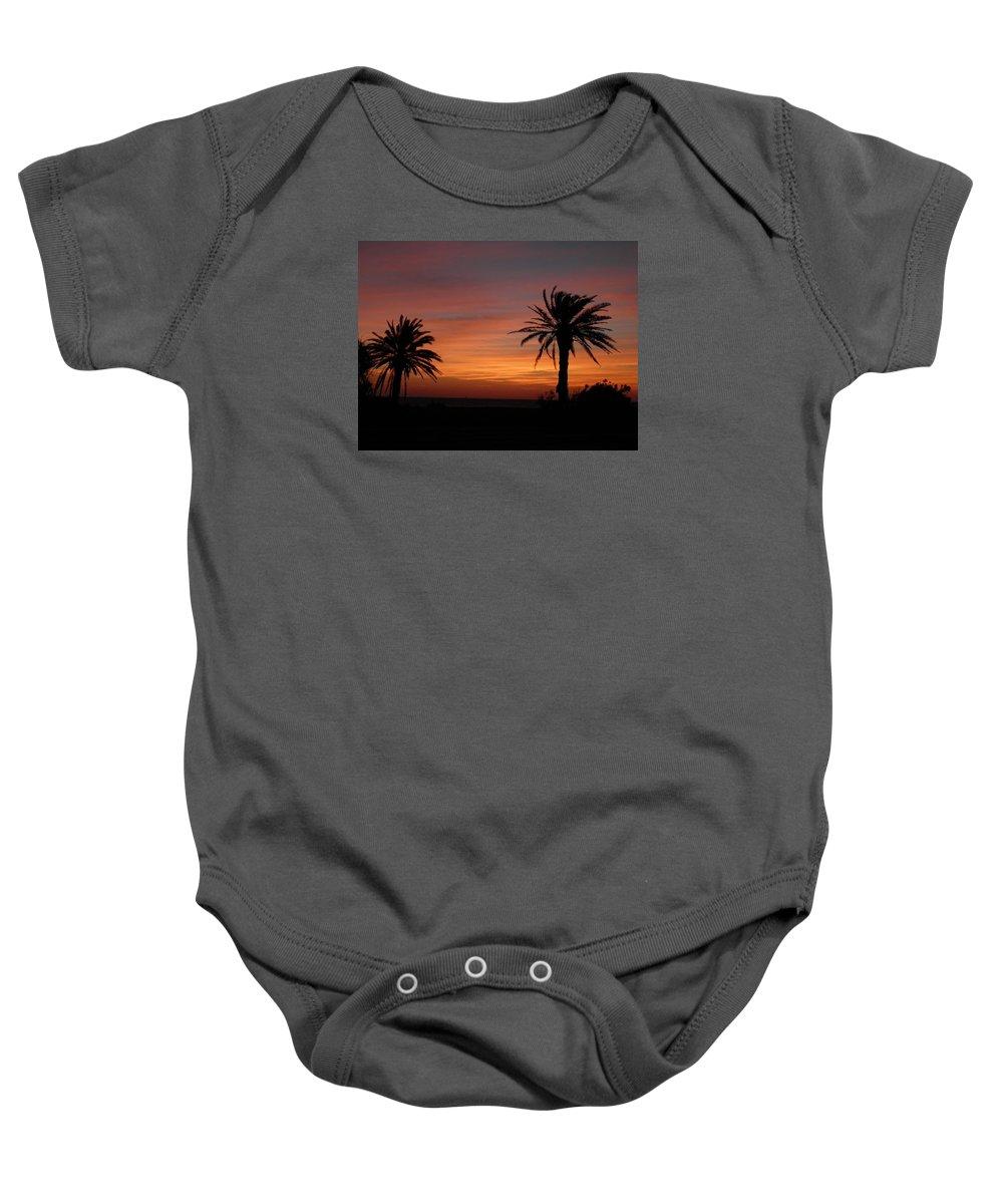 Texas Baby Onesie featuring the photograph Texas Sunrise by Sandra Vasko