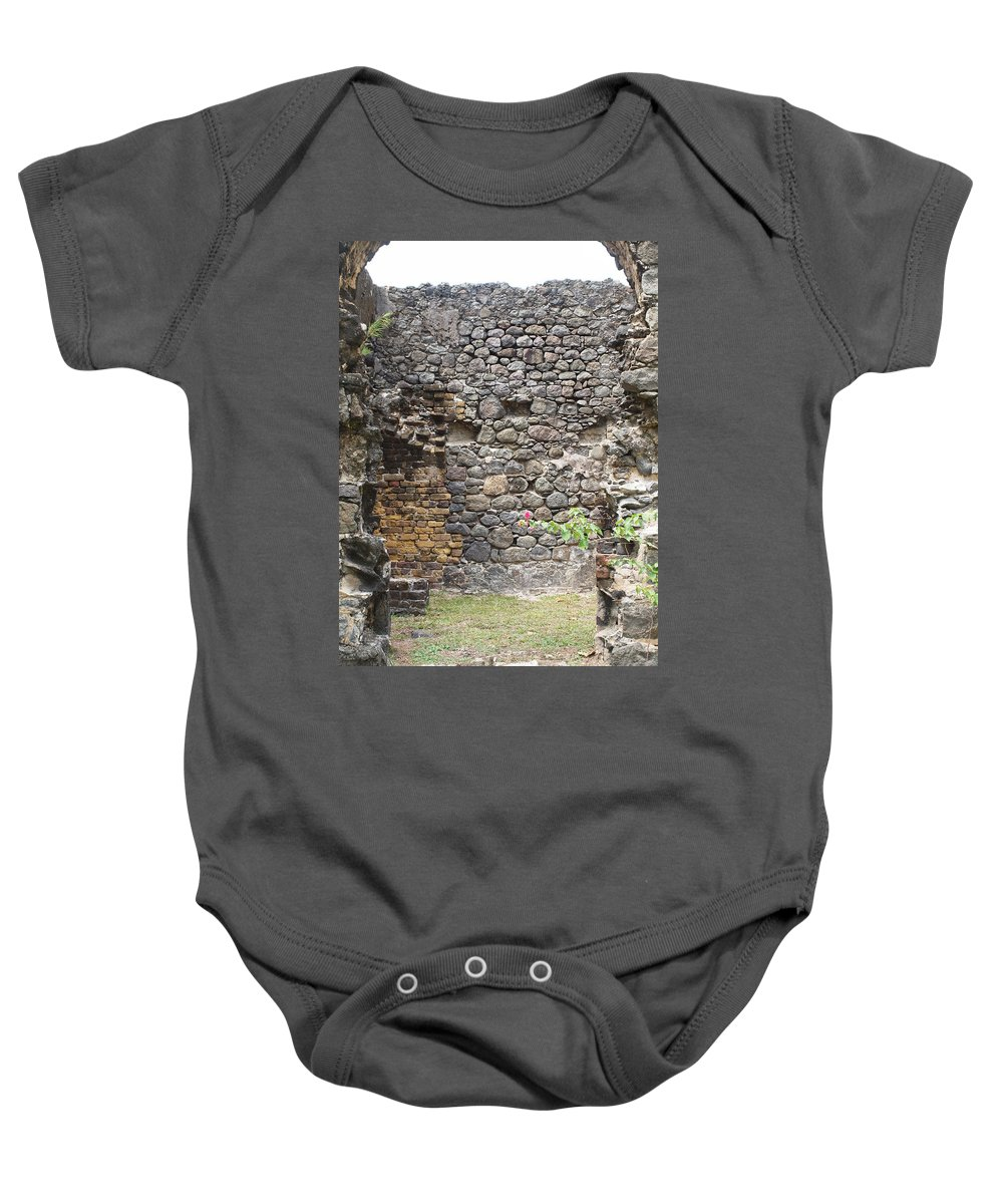 Island Photography Baby Onesie featuring the photograph The Big Bad Wolf by Robert Margetts