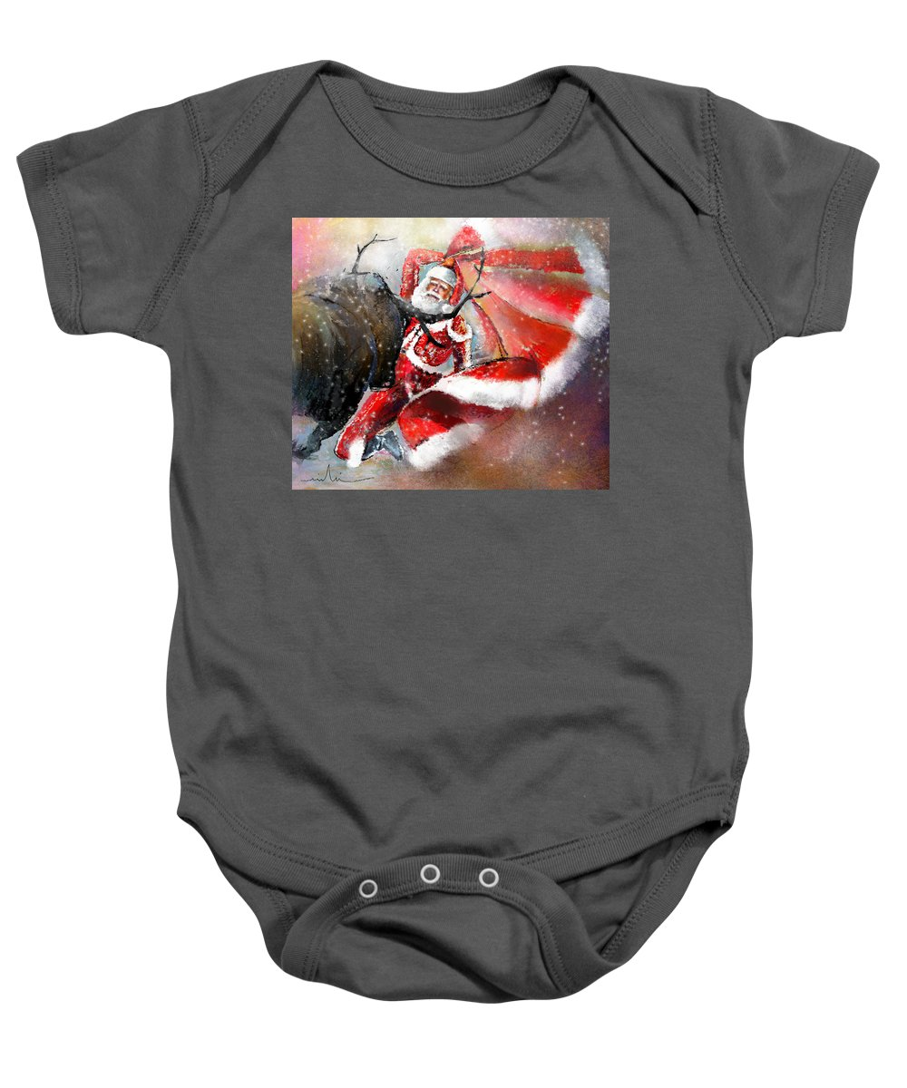 Christmas Baby Onesie featuring the painting The Cape Of Good Hope by Miki De Goodaboom