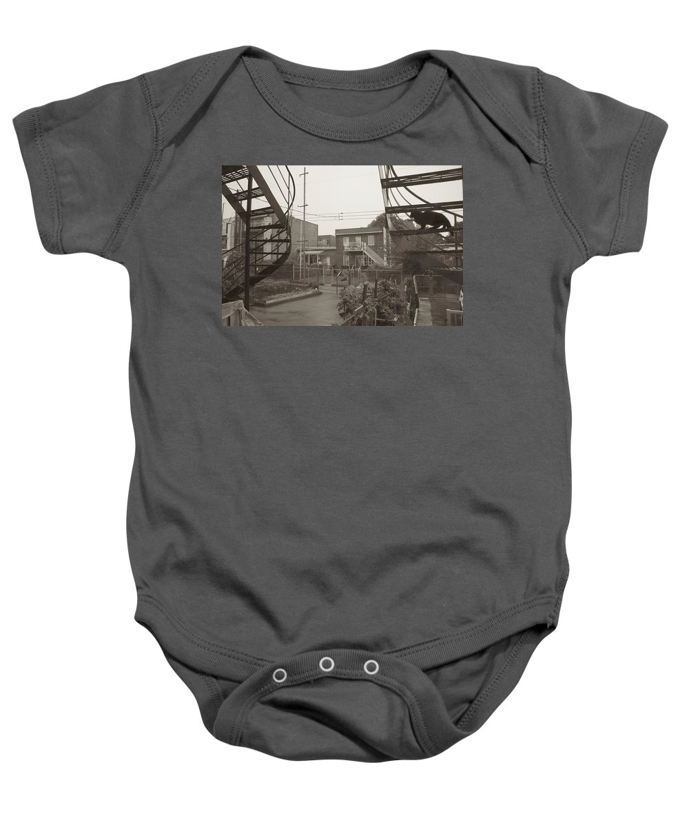 Baby Onesie featuring the photograph The Chase by Donato Iannuzzi