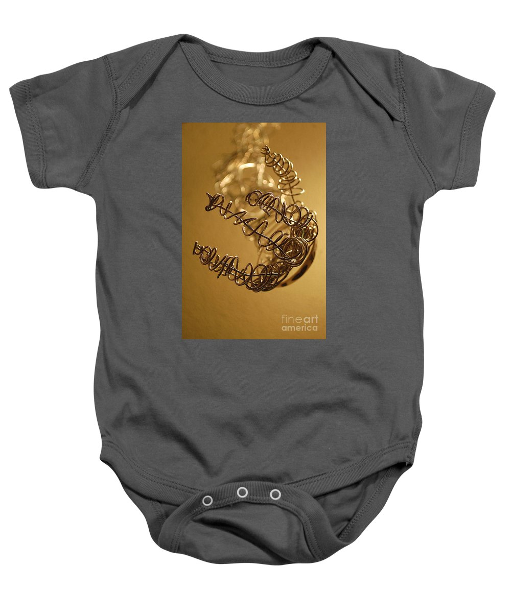 Hand Baby Onesie featuring the photograph Wrapped by Anjanette Douglas