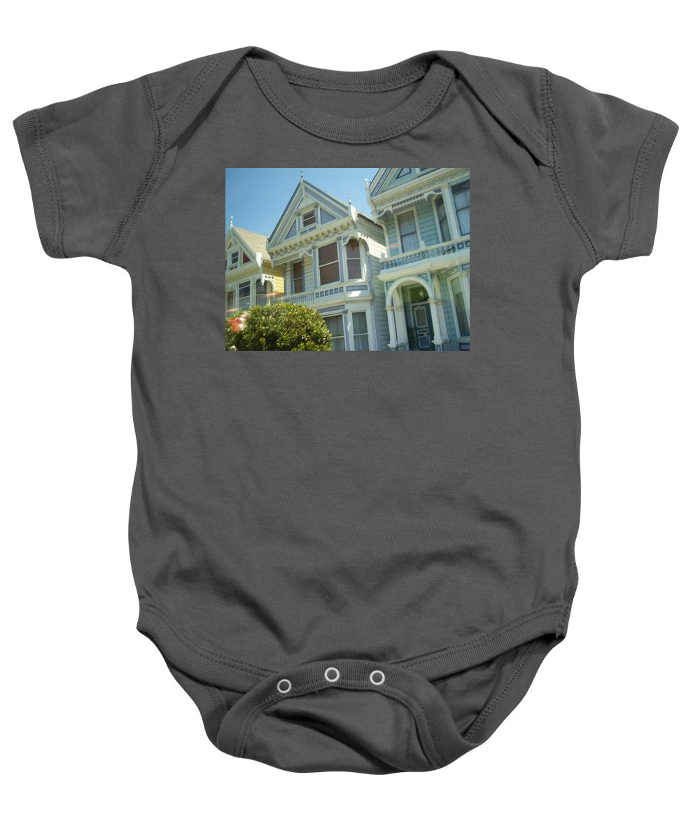 Victorians Baby Onesie featuring the photograph Victorians by Pharris Art