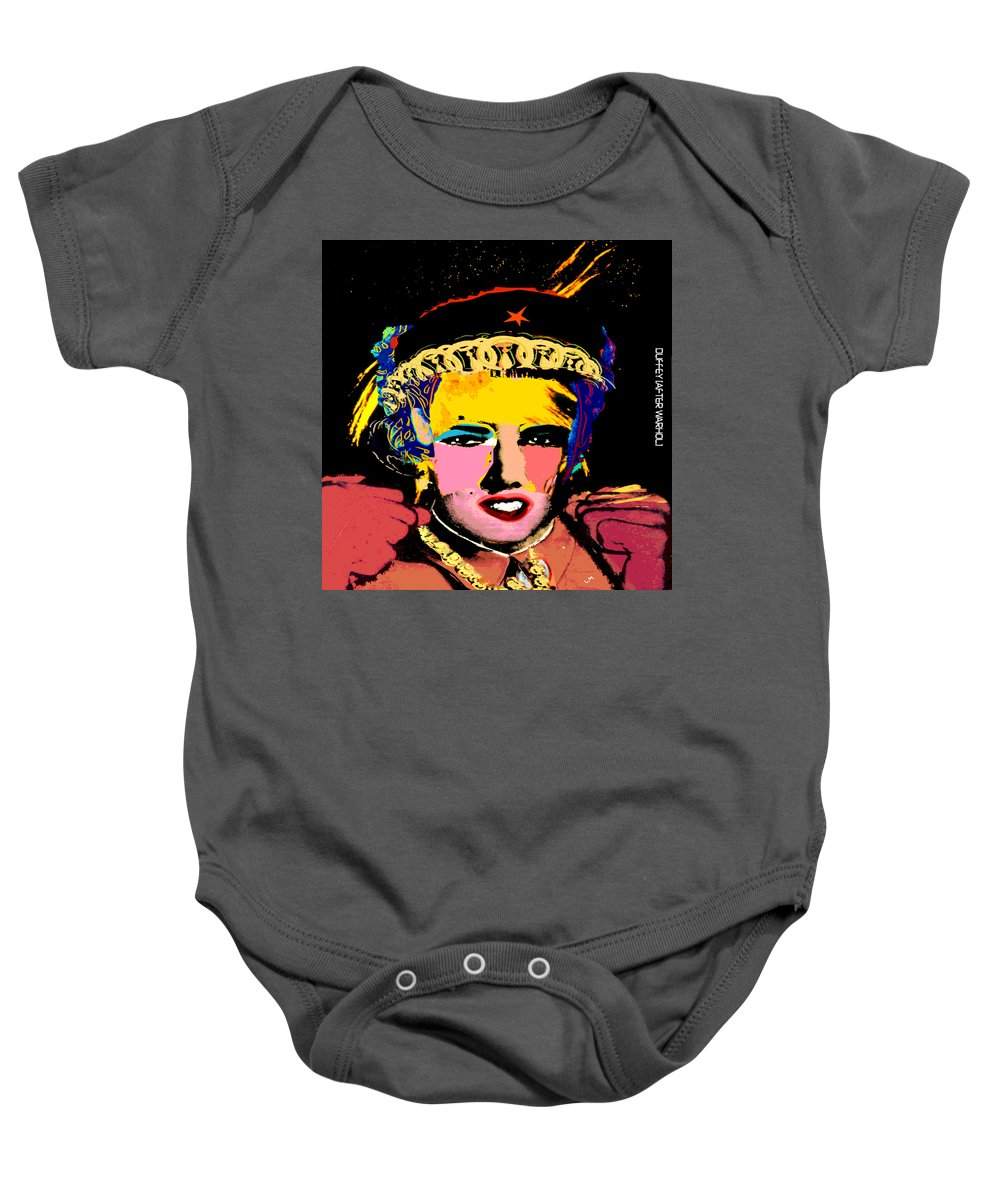 Andy Warhol Baby Onesie featuring the photograph Warhollage 2d by Doug Duffey