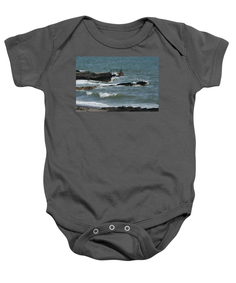 Water Baby Onesie featuring the photograph Water 0002 by Carol Ann Thomas
