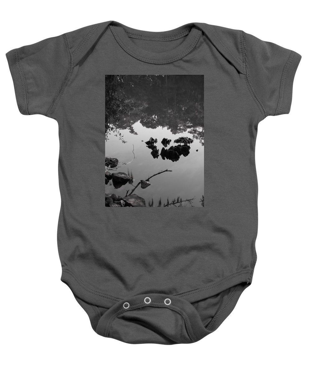 Water Baby Onesie featuring the photograph Watery Reflections by Michele Nelson