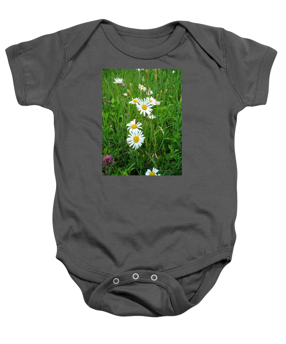 Flowers Baby Onesie featuring the photograph Wild Flowers by April Patterson
