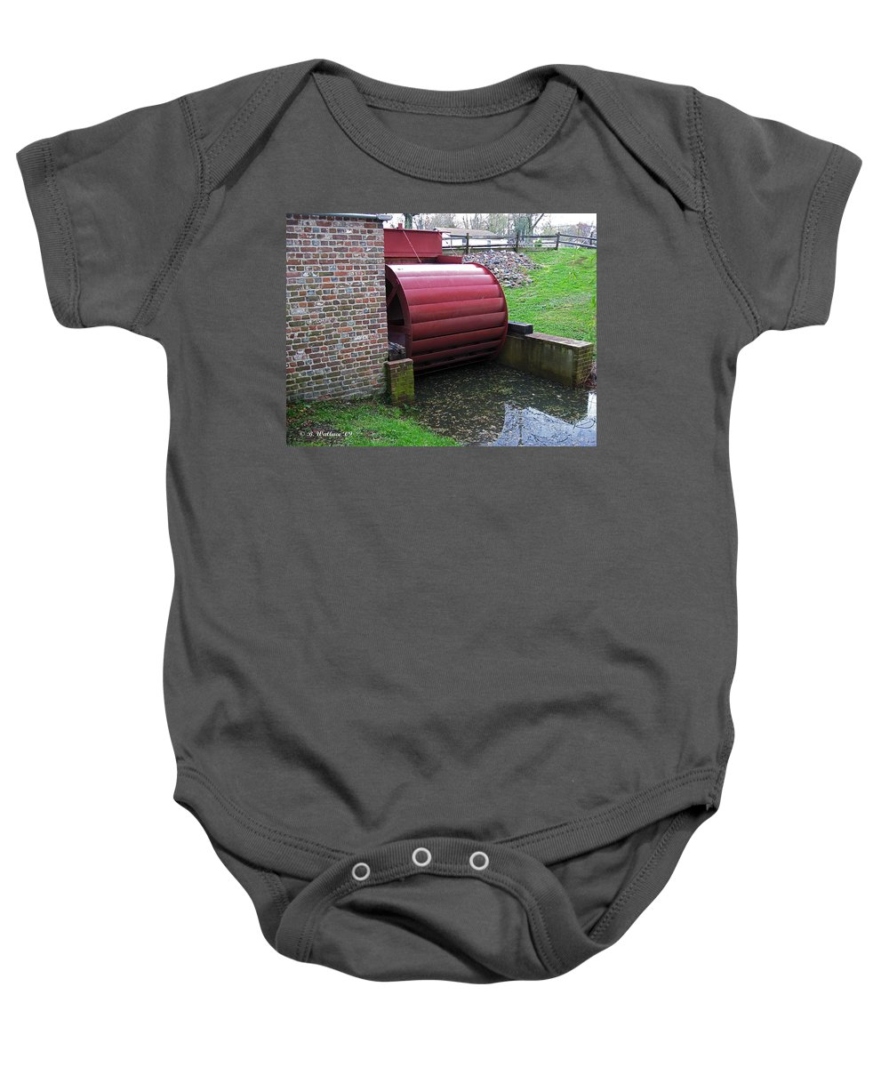 2d Baby Onesie featuring the photograph Wye Mills by Brian Wallace