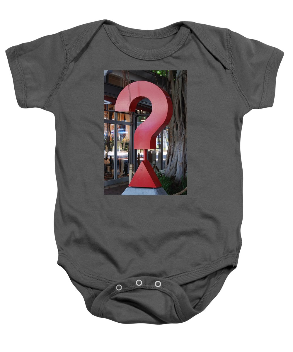 Abstract Baby Onesie featuring the photograph ......... by Rob Hans