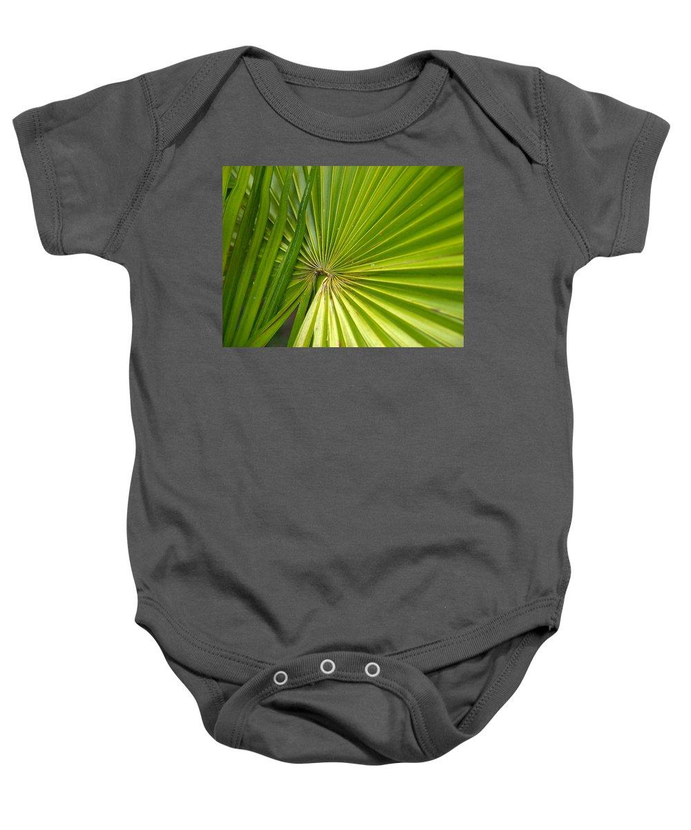 Lehtokukka Baby Onesie featuring the photograph Spiny Fiber Palm by Jouko Lehto