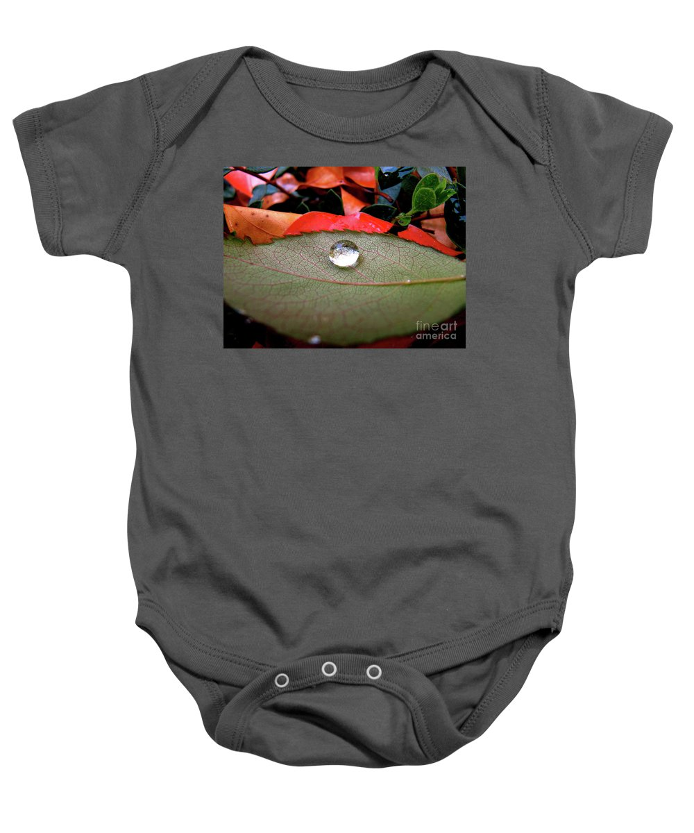 Cml Brown Baby Onesie featuring the photograph All Aboard by CML Brown