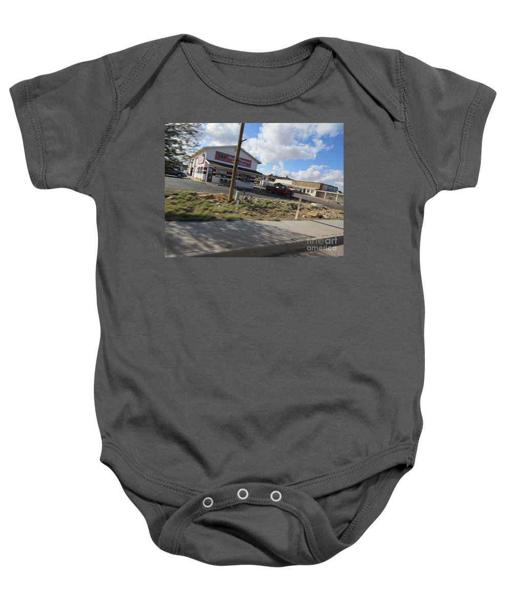 Antique Baby Onesie featuring the photograph Antique Truck by Frederick Holiday