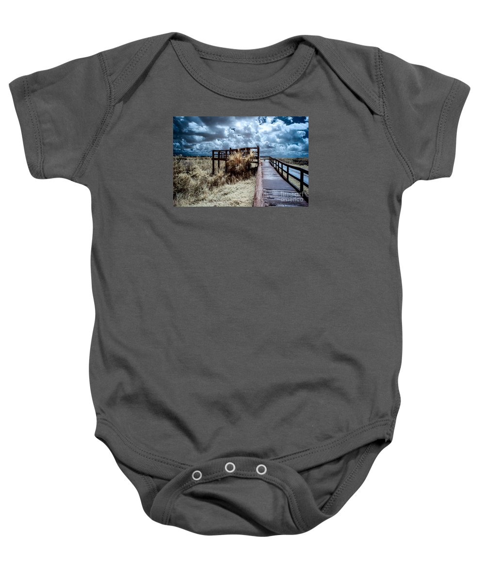 Fine Art Photography Baby Onesie featuring the photograph Arthur Marshall Preserve by Richard Smukler