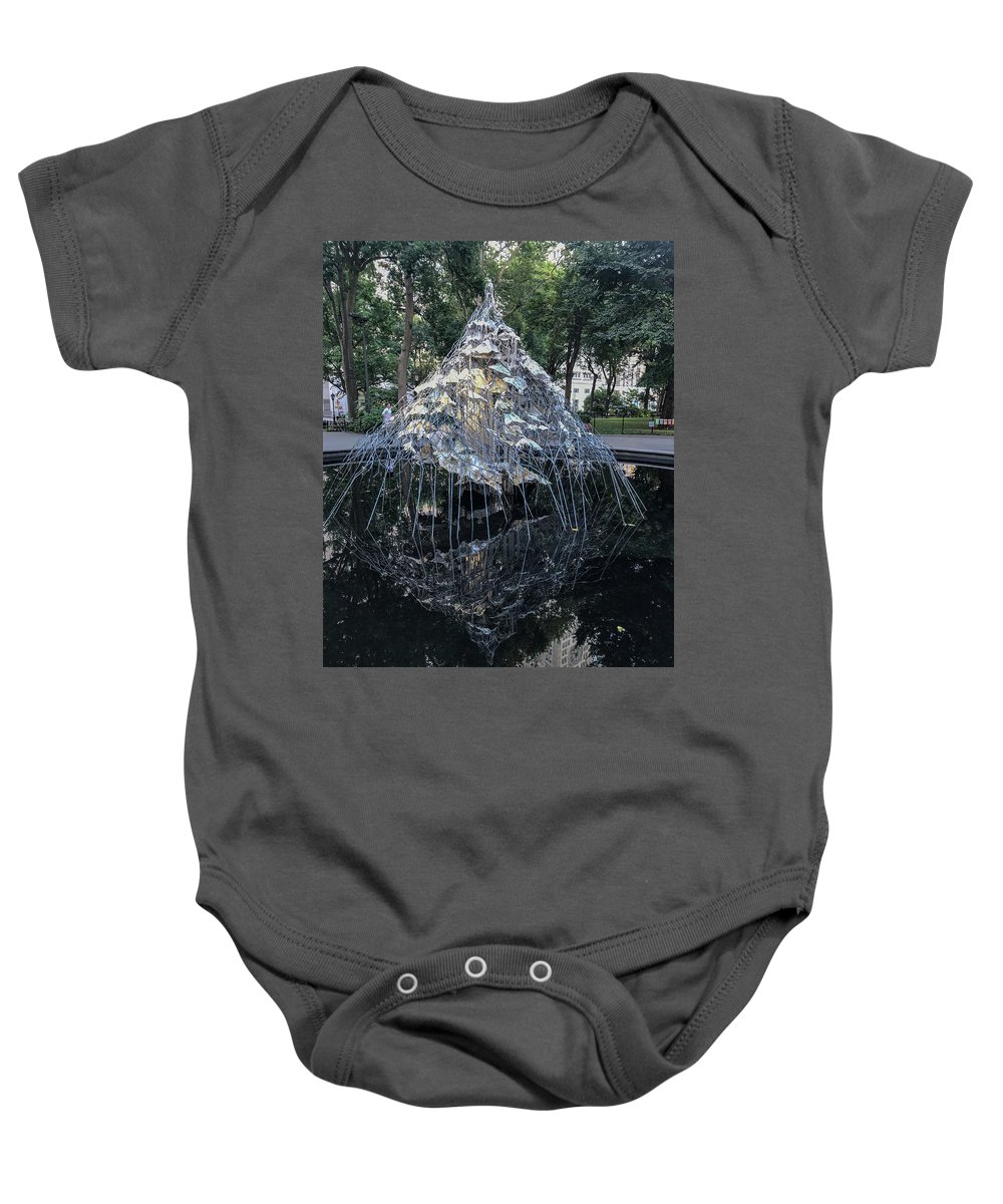 Citadel Baby Onesie featuring the photograph As Seen by Joseph Yarbrough