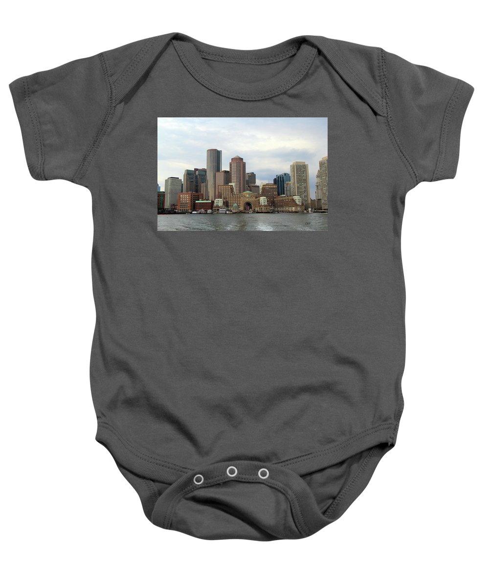 Boston Baby Onesie featuring the photograph Boston by Becca Brann